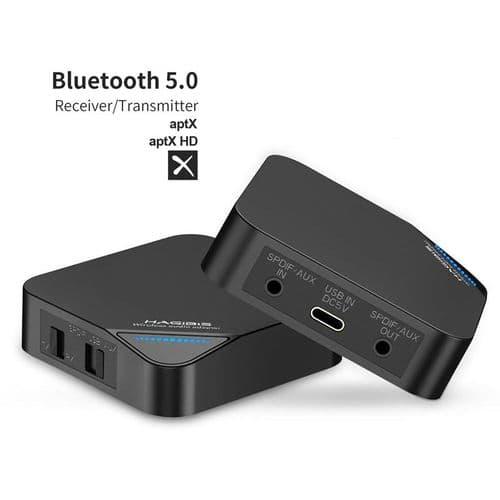Émetteur Récepteur Bluetooth 5.0 2-En-1 Adaptateur Audio Aptx Hd Audio 3,5 Mm
